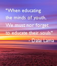 "Poster: ""When educating