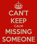 cant keep calm missing G