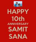 Wishing you many more decades of togetherness!!