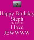 I love you Steph