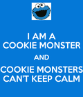 #COOKIE MONSTER