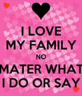 #LOVE YOUR FAMILY