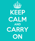 keep calm i'm the last magraon