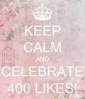 #celebrate #400likes