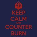 #KeepCalmCounterBurn