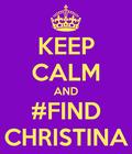 #FindChristina