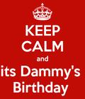its dammy's BIRTHDAY