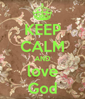 #love god