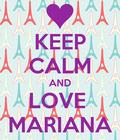 Parabéns Mariana que Deus te abençoe ao resto da sua vida !!!