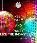 #party #KEEP #CALM