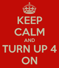 KEEP CALM AND TURN UP FOR JS3'S