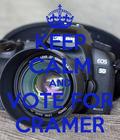 Vote for Cramer as Historian!