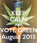 #GreentheVote