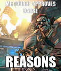 #Gusmao #Tourge #Borderlands2 #Reasons #Derp