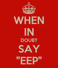 #whenindoubt
