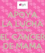 APOYA LA LUCHA CONTRA EL CANCER DE MAMA