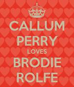 CALLUM PERRY LOVES BRODIE ROLFE