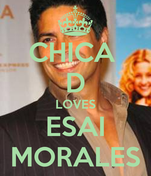 CHICA  D LOVES ESAI MORALES