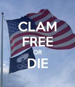 CLAM FREE OR DIE
