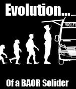 Evolution... Of a BAOR Solider
