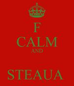 F CALM AND  STEAUA