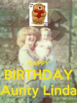 HAPPY BIRTHDAY Aunty Linda