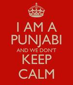 I AM A PUNJABI AND WE DON'T KEEP CALM