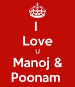I  Love U Manoj & Poonam