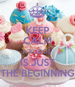 KEEP CALM A KUDOS  IS JUST THE BEGINNING