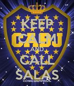 KEEP CALM AND CALL SALAS