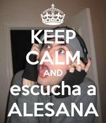 KEEP CALM AND escucha a ALESANA