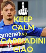 KEEP CALM AND GABBIADINI CIAO