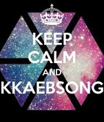 KEEP CALM AND KKAEBSONG
