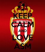 KEEP CALM AND LOVE ASM