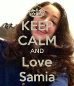 KEEP CALM AND Love Samia