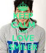 KEEP CALM AND LOVE SMILER