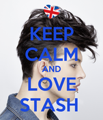 KEEP CALM AND LOVE STASH