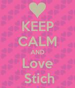 KEEP CALM AND Love  Stich