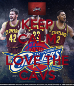 KEEP CALM AND LOVE THE CAVS