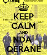 KEEP CALM AND NDA  QERANË