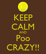 KEEP CALM AND Poo CRAZY!!