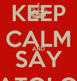 KEEP CALM AND SAY TABATOLOGUE