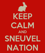 KEEP CALM AND SNEUVEL NATION