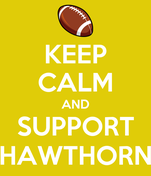 KEEP CALM AND SUPPORT HAWTHORN