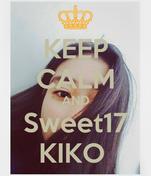 KEEP CALM AND Sweet17 KIKO