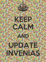 KEEP CALM AND UPDATE INVENIAS