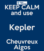 KEEP CALM and use Kepler Cheuvreux Algos