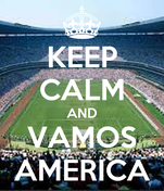 KEEP CALM AND VAMOS AMERICA