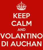 KEEP CALM AND VOLANTINO DI AUCHAN