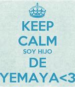 KEEP CALM SOY HIJO DE YEMAYA<3
